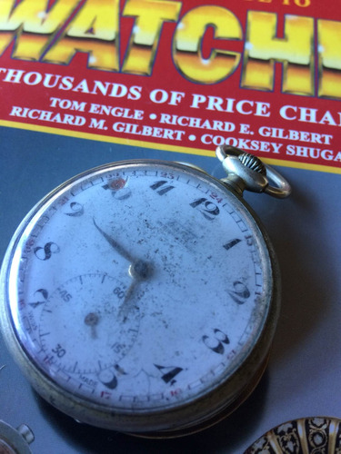 65031e64831 Relógio Tissot Bolso De Coleção( Parado) Canaldorelogio 079 - R  299 ...