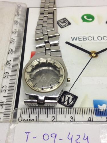 relógio tissot caixa e pulseira automático t09424 webclock