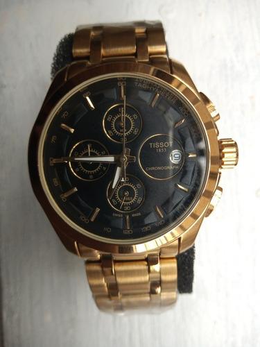 relógio tissot couturier 41mm  t035.617.11.051.00 18k