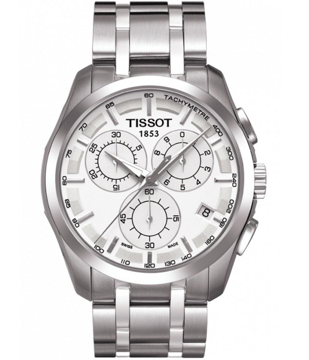 af739cc3e11 relógio tissot couturier t035.617.11.031.00 branco original. Carregando  zoom.