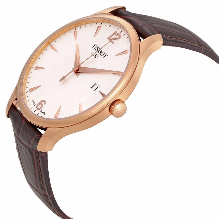 f2ceb5258c8 relógio tissot de ouro a tradição rosa homens pvd original. Carregando zoom.