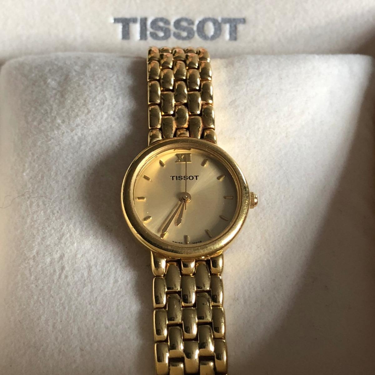 074a4524a2f relogio tissot feminino- classic dourado. Carregando zoom.