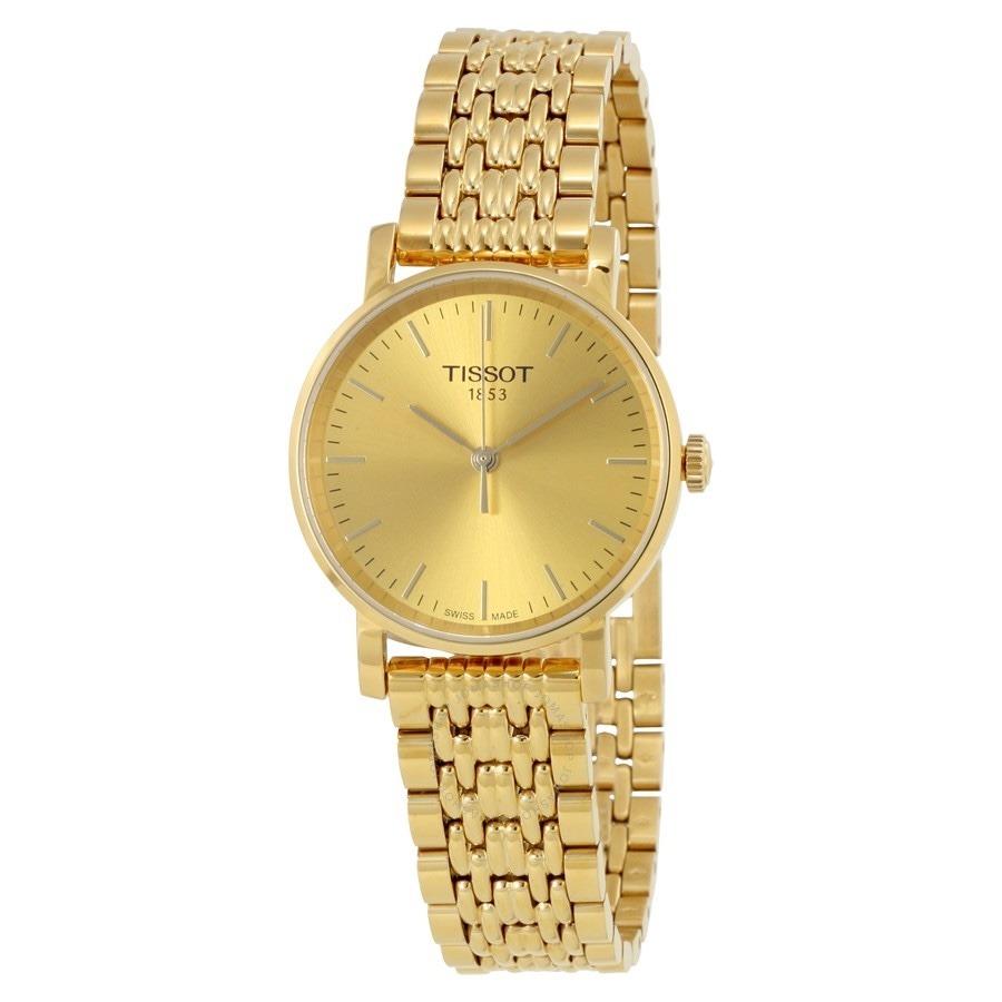 7f2cdd7c5bb relogio tissot feminino t1092103302100 t- classic dourado. Carregando zoom.