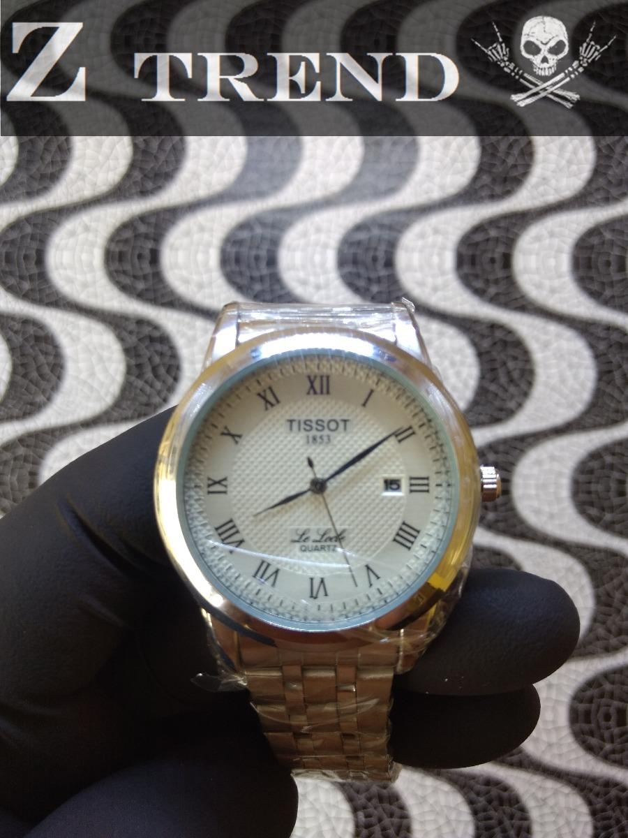 3ae6860733a relógio tissot le locle quartz (veja video). Carregando zoom.