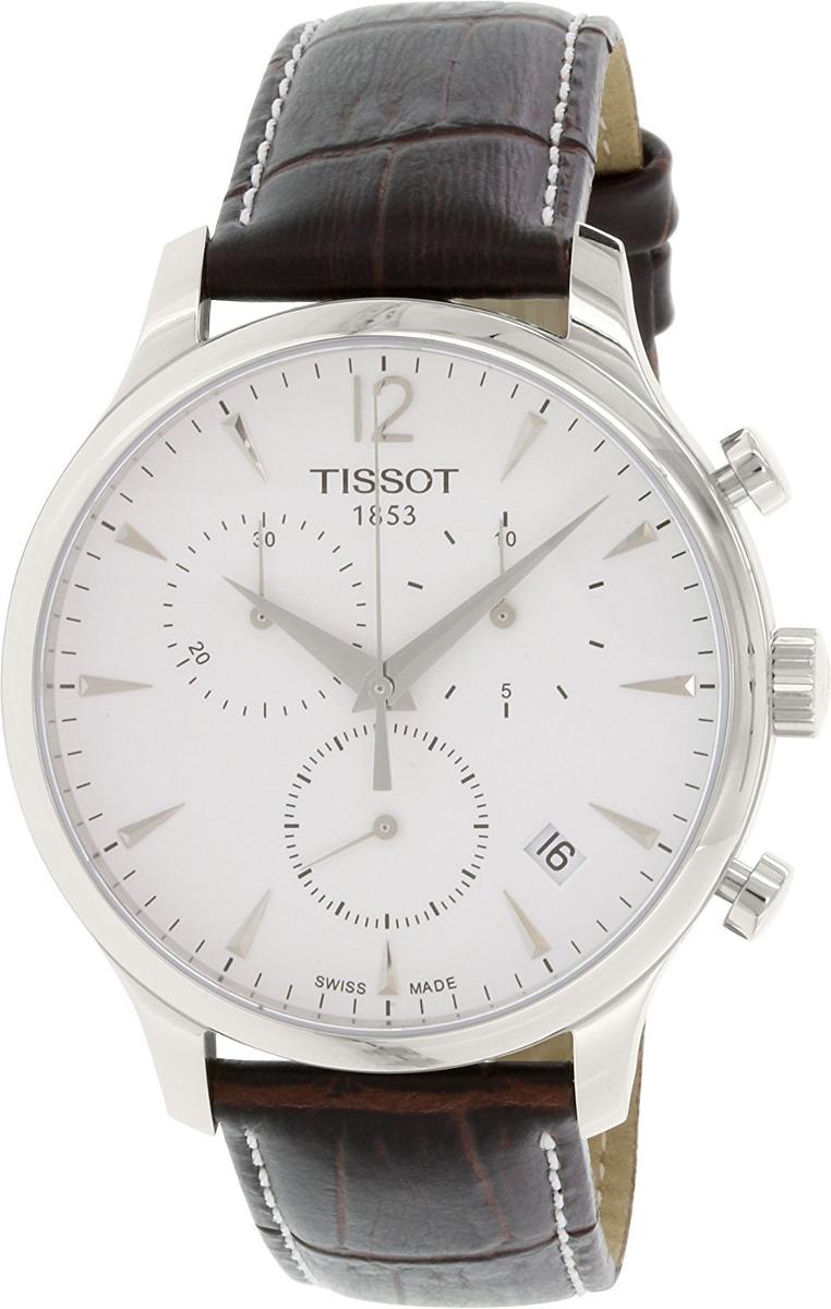 c01231c6b51 relógio tissot mens tradition chronograph - 12721. Carregando zoom.