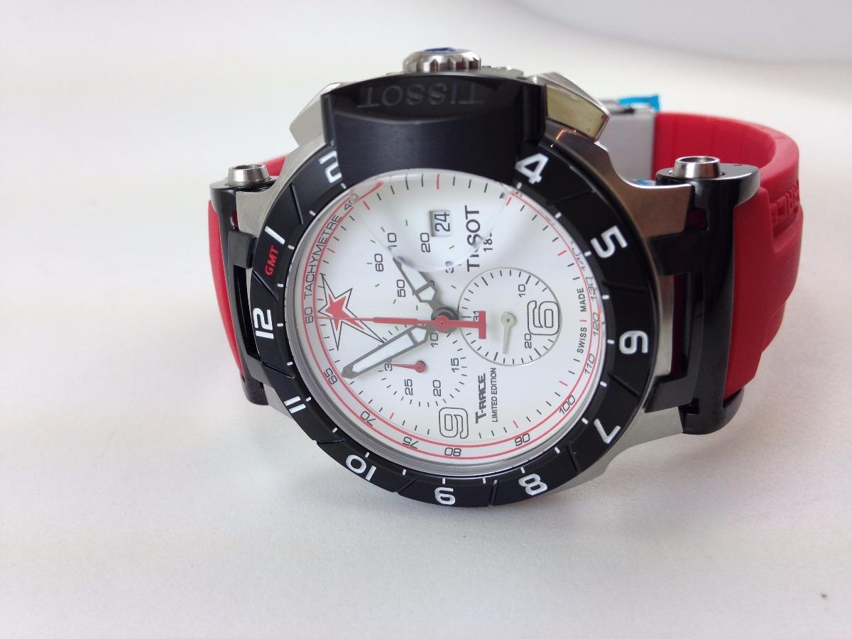 a325cbc3ee8 relógio tissot moto gp vermelho cronógrafo  arremate leilão. Carregando  zoom.