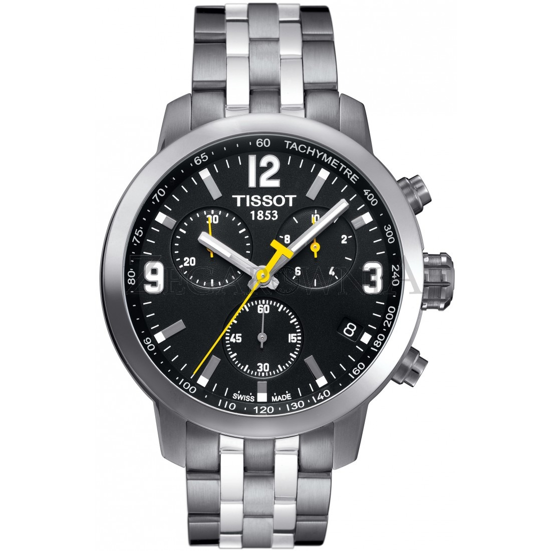 aa112001bf0 Relógio Tissot Novo Prc 200 T055.417.11.057.00 Preto Aço - R  1.378 ...