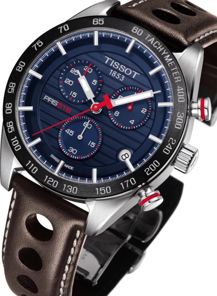 c0e4c8228d8 relógio tissot novo prs 516 t1004171605100 azul original. Carregando zoom.