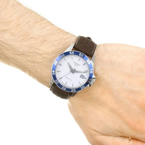 relógio tissot novo v8 t1064071603100 automatico original