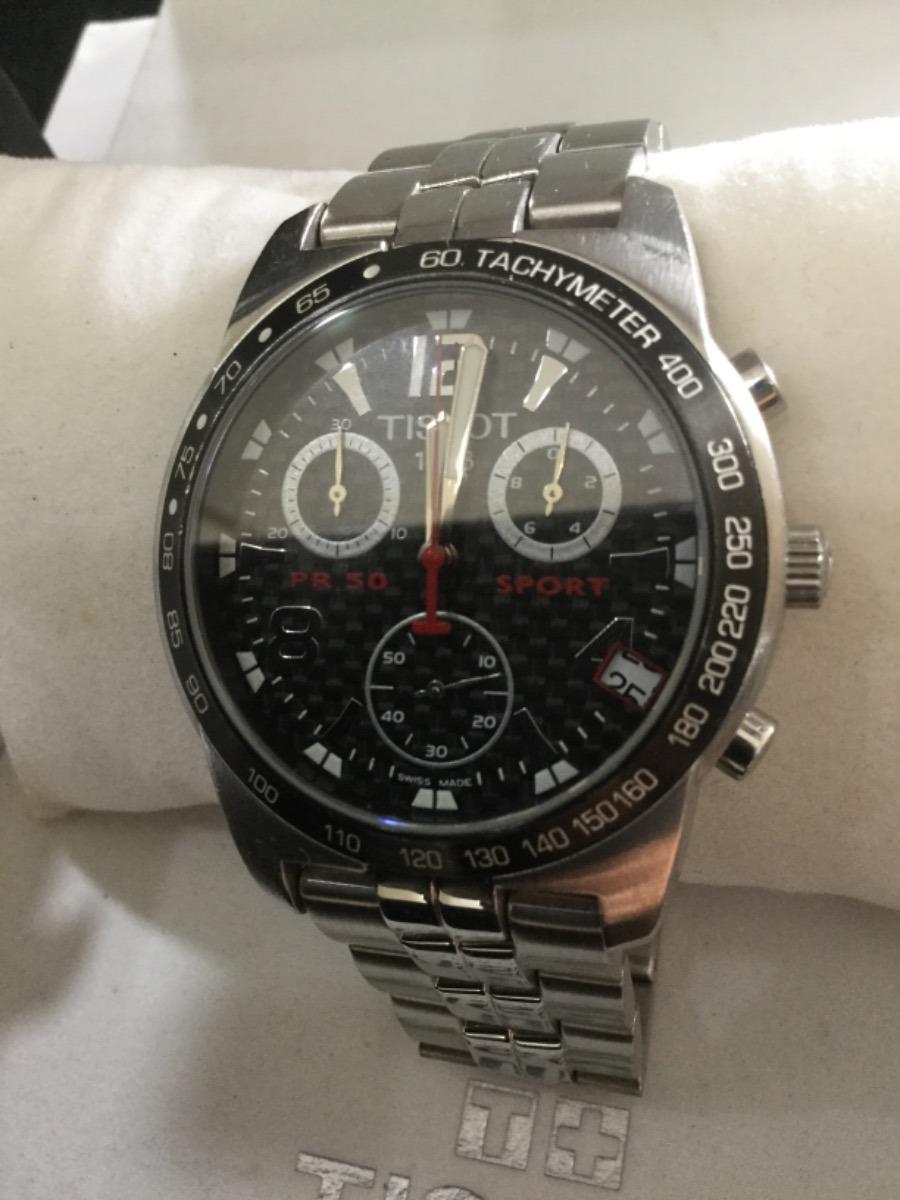 ee63734f609 relógio tissot pr50 - edição limitada nascar original. Carregando zoom.