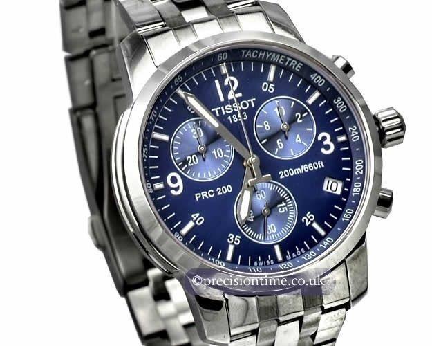 c73fb58b859 Relógio Tissot Prc 200 Prc200 T17.1.586.42 Azul Original - R  1.079 ...