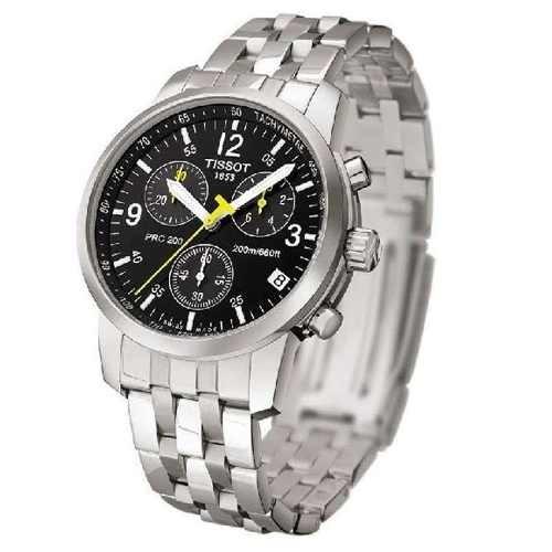 b4fdc42cfc5 Relógio Tissot Prc 200 Prc200 T17.1.586.42 Azul Original - R  1.179 ...