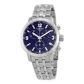 Relógio Tissot Prc 200 T055.417.11.047.00 Azul Novo Aço