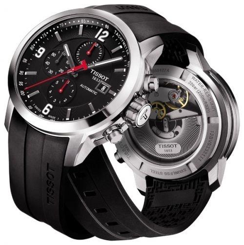 690d9f43240 Relogio Tissot Prc 200 T0554271705700 Automatico Preto - R  4.998