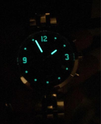 relogio tissot prc200 azul aço modelo novo t055.417.11.047.0
