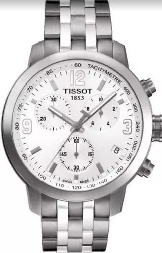 relógio tissot prc200 original vidro anti-risco completo