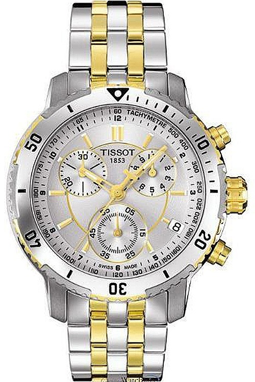 f97256666d7 Relógio Tissot Prs 200 T0674172203100 Misto Prata Dourado - R  1.378 ...