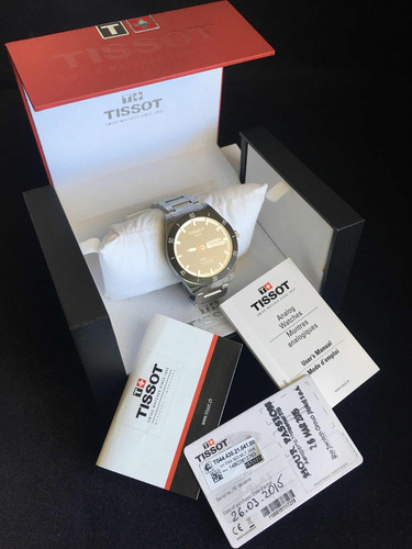 relógio tissot prs 516 automático zero na caixa completo