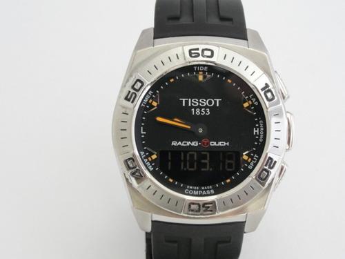 relógio tissot racing touch - swiss made - original