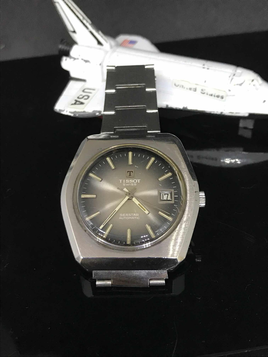 4d1eafc13ca Relógio Tissot Seastar Impecavel Peça De Colecionador - R  449