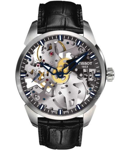 relógio tissot squelette mechanical t0704051641100
