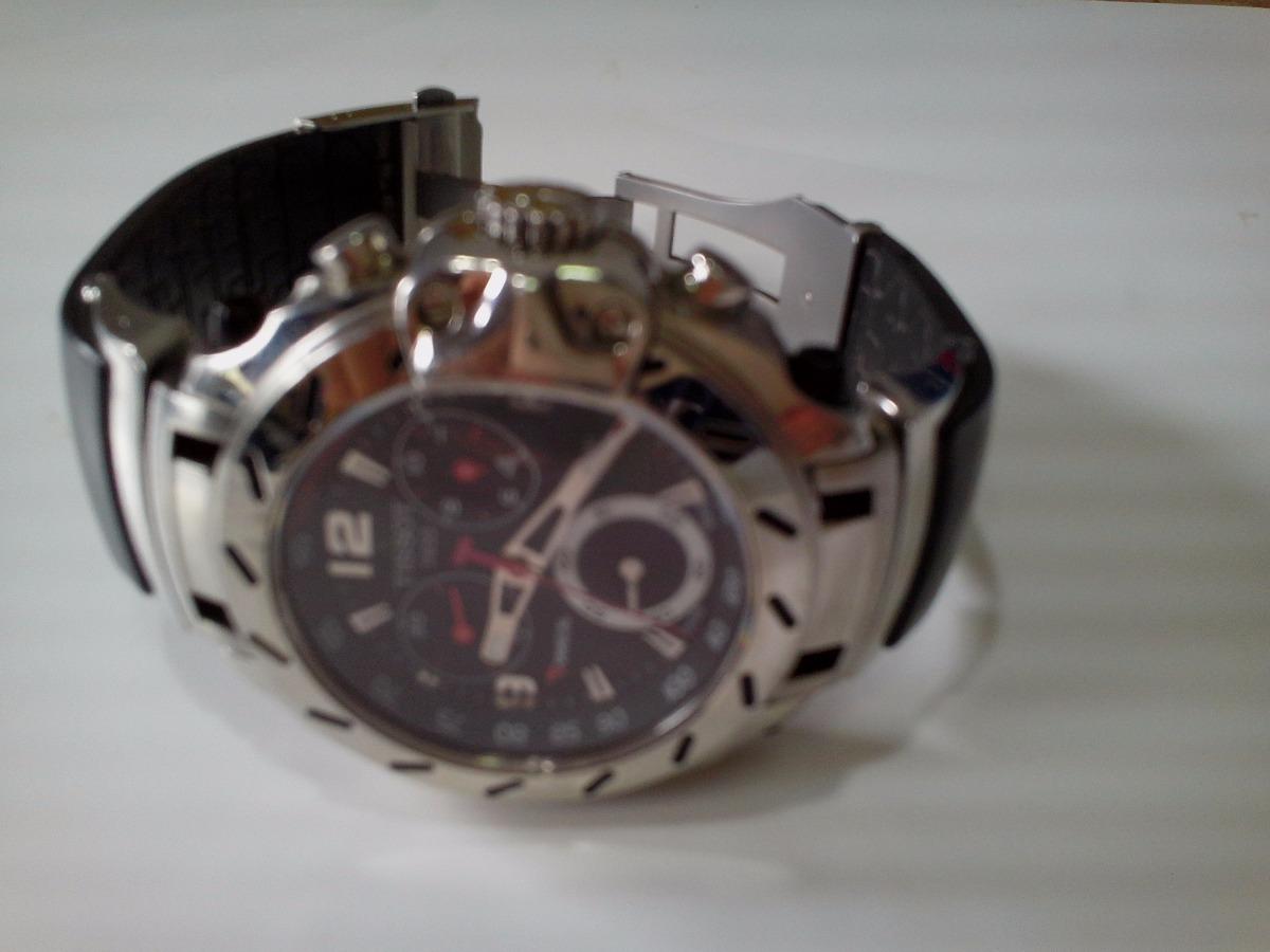 5957359fdc6 relógio tissot t race chronograph quartz watch. Carregando zoom.
