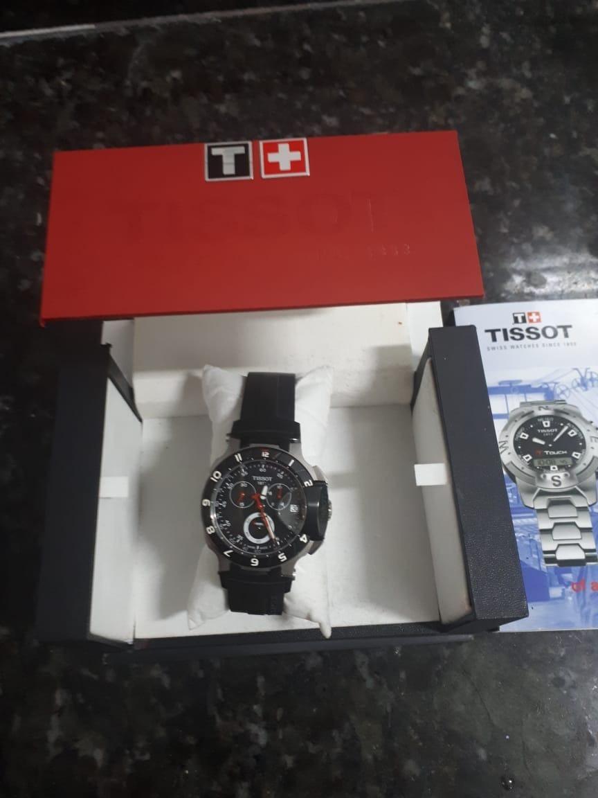 50ae5dc8f11 relógio tissot t race moto gp original. Carregando zoom.