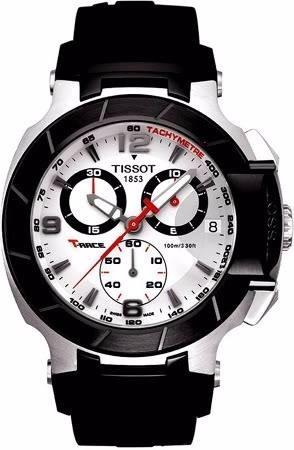 cf31dd1ba0a Relógio Tissot T-race Moto Gp Rose   Preto   Branco   - R  1.759