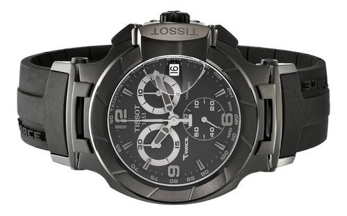 relogio tissot t race t0484173705700 moto gp black original
