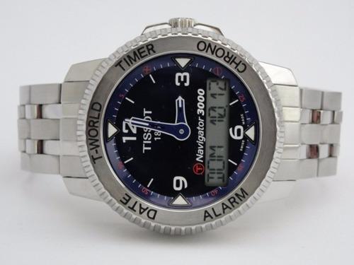 relógio tissot t touch navigator 3000  - t96.1.488.42