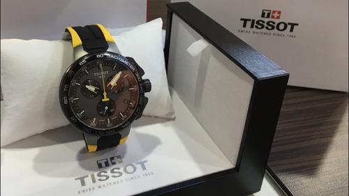 relogio tissot t1114113744100 t-race cycling tour de france