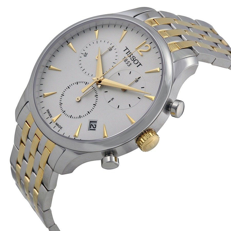 b3ebabee4b5 relógio tissot tradition t063.617.22.037.00 misto dourado. Carregando zoom.