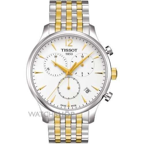 d9574f3bb92 Relógio Tissot Tradition T063.617.22.037.00 Misto Dourado - R  1.379 ...