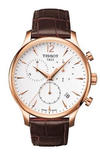 4573a969d66 Relógio Tissot Tradition T0636173603700 Rose Original - R  1.379