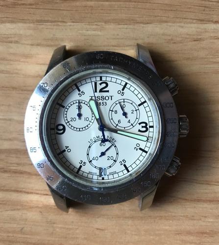 relógio tissot v8 chronograph sapphire crystal -  original
