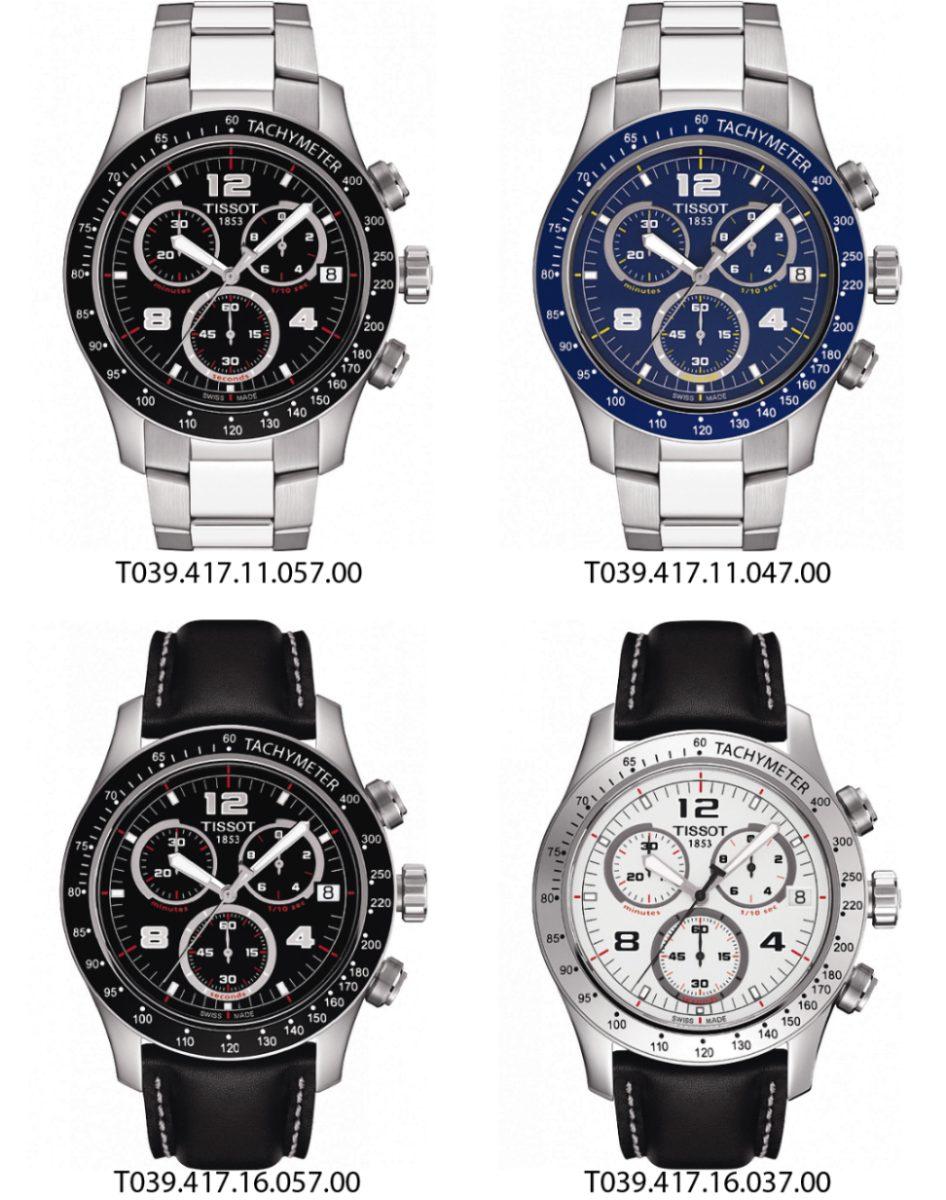 d46a3cd888e relógio tissot v8 original chronograph t039.417.11.057.00. Carregando zoom.