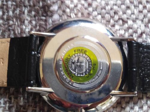 relógio tommy 1791339 preto couro + garantia + caixa