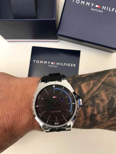 relogio tommy hilfiger 100% original 1791528 ! exclusivo!
