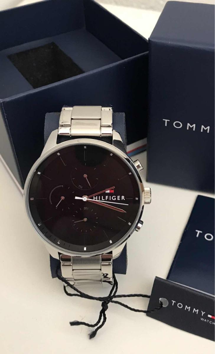 46f108eb890 Relogio Tommy Hilfiger 100% Original!1791485 Exclusivo ! Top - R ...