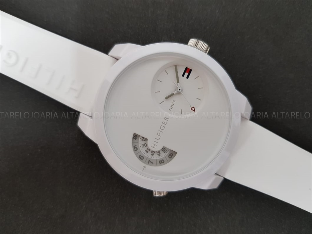 Relógio Unissex Tommy Hilfiger Th30614725322298whi Dual Time - R ... 91b4380552