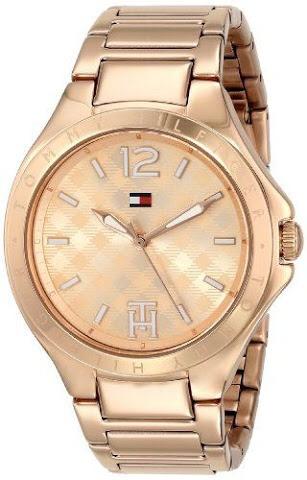8d62932df29 Relógio Tommy Hilfiger Feminino Dourado 12 X Sem Juros - R  529