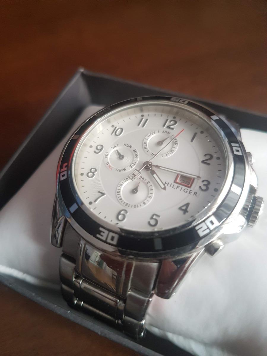 5854d86f95d relógio tommy hilfiger masculino - 100% original. Carregando zoom.