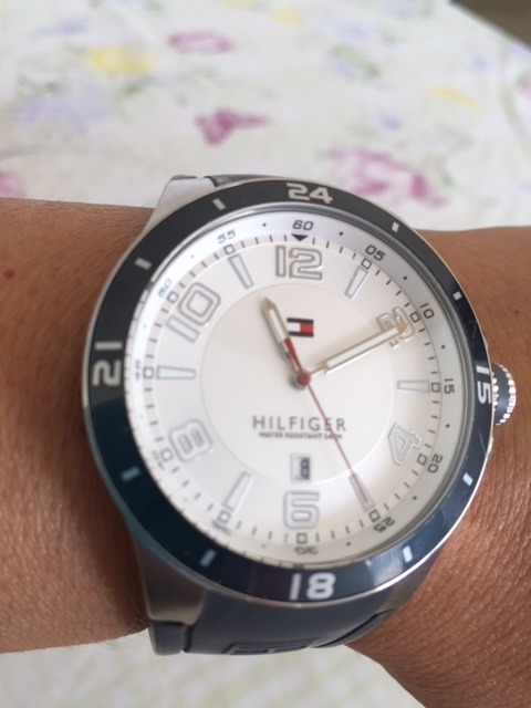 3509e148a1e Relógio Tommy Hilfiger - Modelo 184.1.27.1273 - Original Usa - R ...