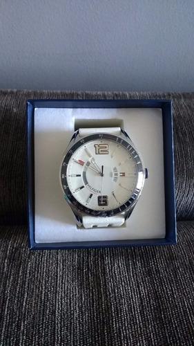 relogio tommy hilfiger pulseira de silicone branco 1790798