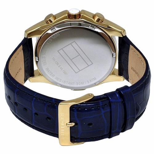relógio tommy hilfiger th1781282 orig chron anal couro
