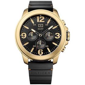 Relógio Tommy Hilfiger Th1791095 Orig Chron Anal Golden Blck