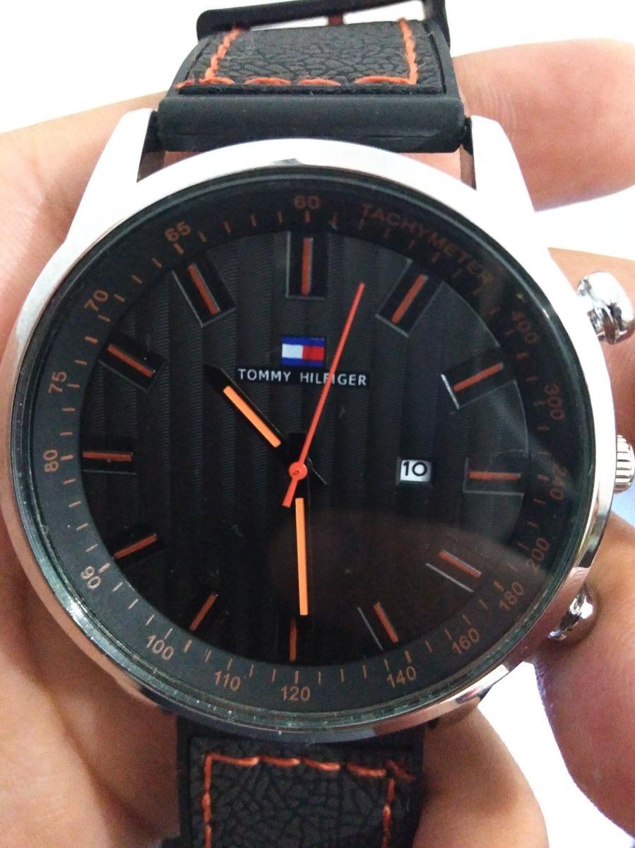 c5dfa870049 Relógio Tommy Social Masculino Luxo + Caixa Tommy - R  99