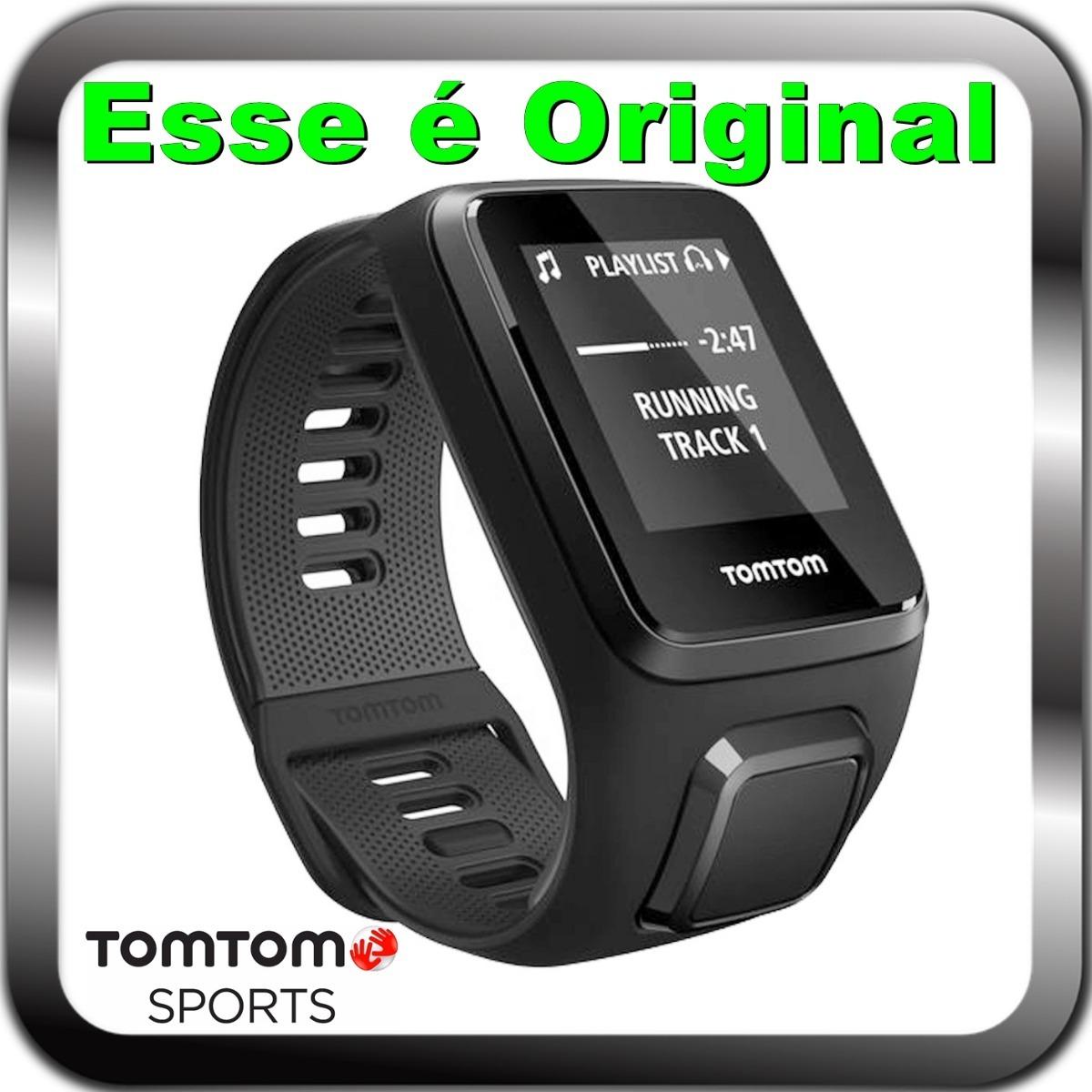 768b7157752 Relogio Tomtom Spark 3 Cardio Gps Pulseira Grande - R  1.990