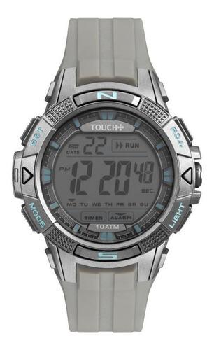 relógio touch masculino cinza twlcdaa/8c