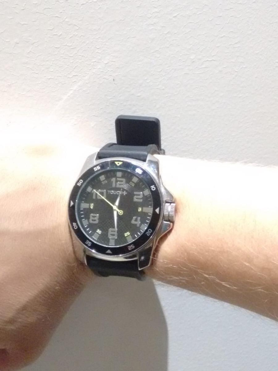 b56c2dec1ad Relógio Touch Masculino Seminovo - R  70